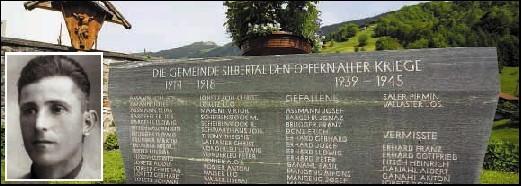 Soll der Name von Josef Vallaster vom Silbertaler Gedenkstein entfernt werden?