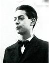 Der junge Johann August Malin (1902 - 1942)